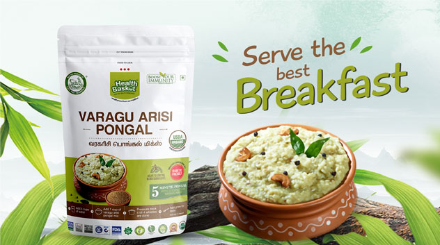 Health Basket Varagu Arisi Pongal